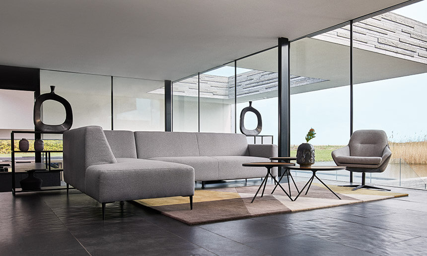 Less is more: ein modernes Interieur mit diesen 5 Elementen