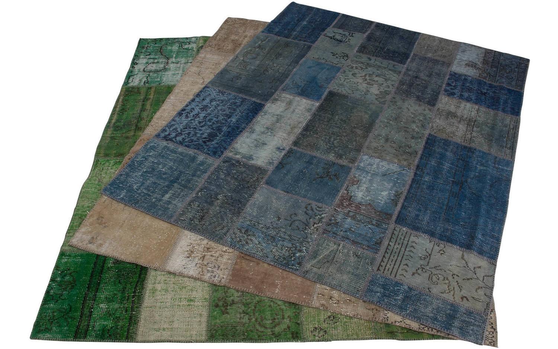 teppich vintage blau baumwolle kopen goossens. Black Bedroom Furniture Sets. Home Design Ideas