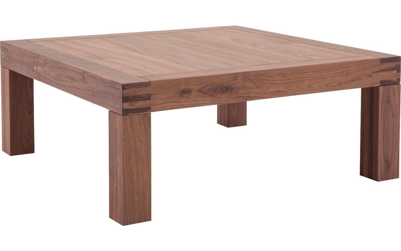 couchtisch clear nussbaum noten kopen goossens. Black Bedroom Furniture Sets. Home Design Ideas
