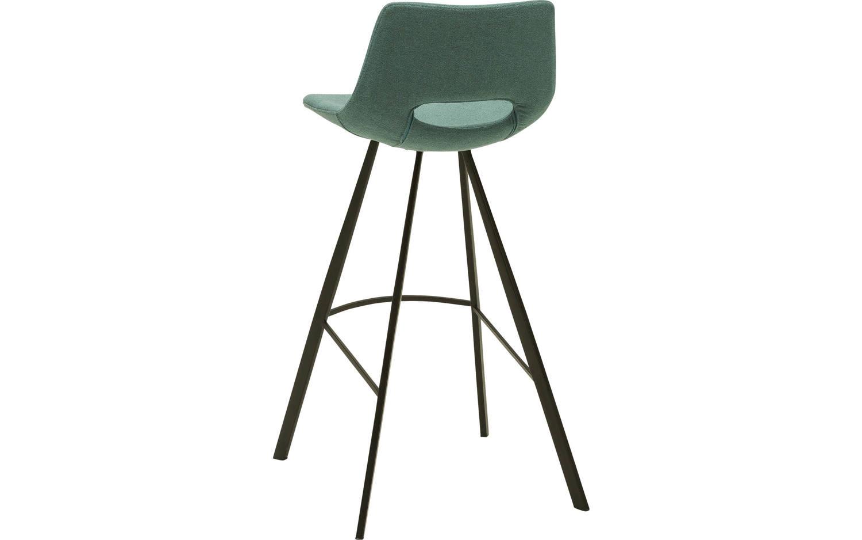 barhocker yell blau stoff kopen goossens. Black Bedroom Furniture Sets. Home Design Ideas