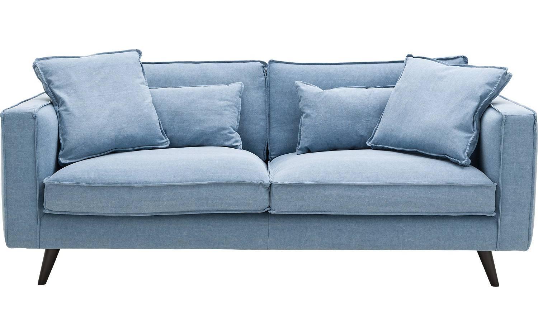 2 sitzer suite blau stoff kopen? goossens