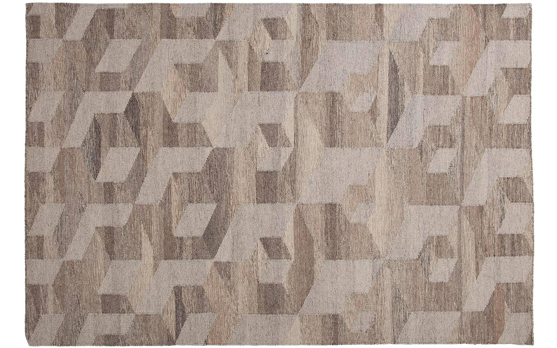 Teppich Brainwash Braun Wolle kopen?  Goossens