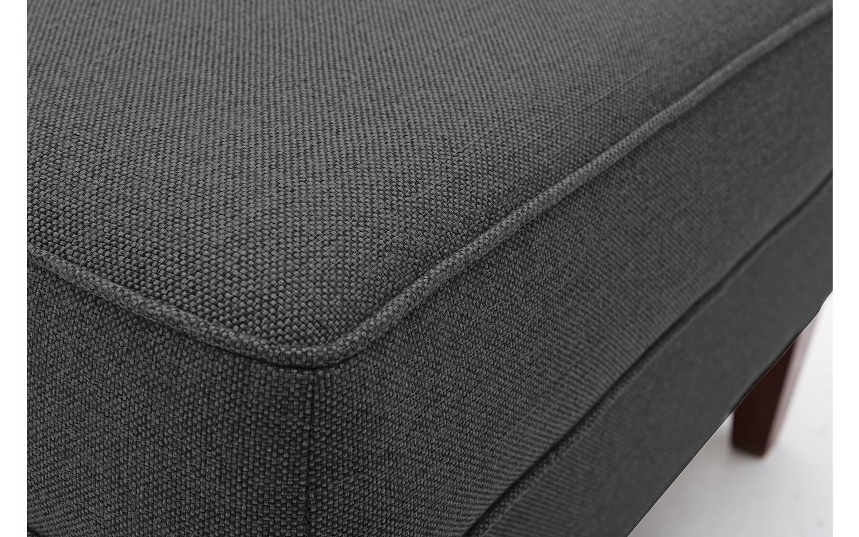 hocker harvey grau stoff kopen goossens. Black Bedroom Furniture Sets. Home Design Ideas