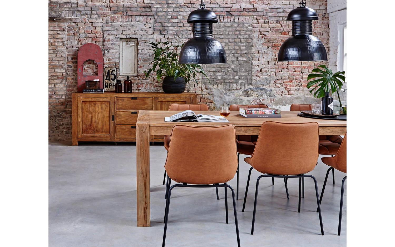 esstisch hampton unbearbeitet teak kopen goossens. Black Bedroom Furniture Sets. Home Design Ideas