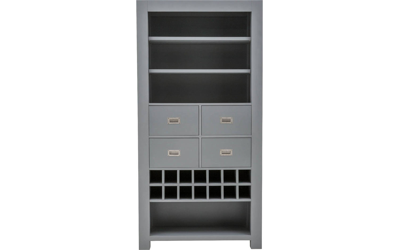 Bücherschrank Belvedere Grau Mdf kopen? | Goossens