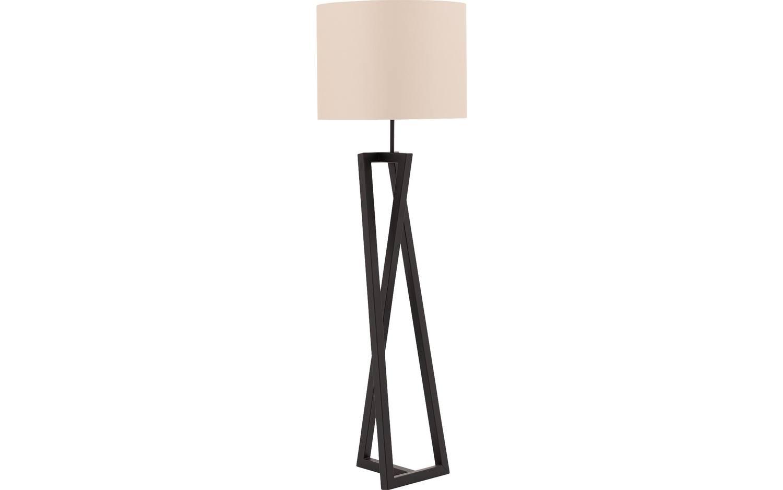 Stehlampe Marina Schwarz Metall Kopen Goossens