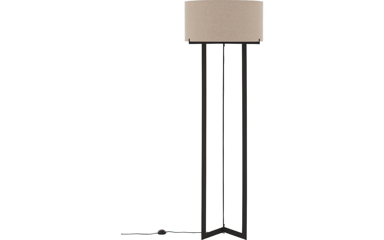 Stehlampe Morris Schwarz Metall Kopen Goossens