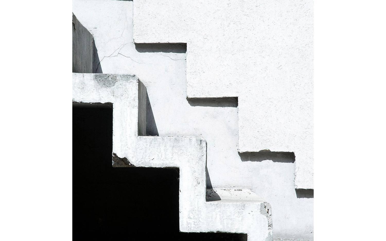 Schilderij Escalier Maison