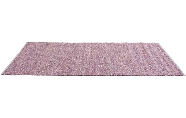 Teppich moos pink wolle - 8150300-01