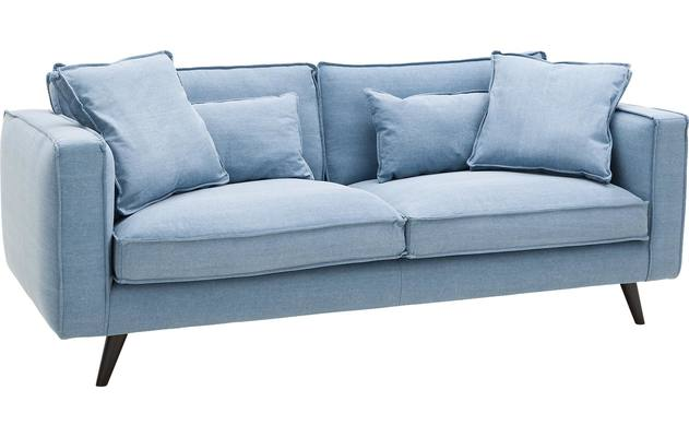 Ecksofa Suite Blau Stoff kopen? | Goossens