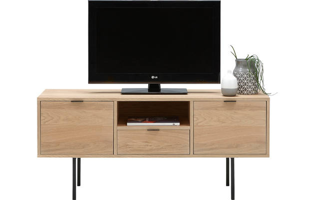 Goossens tv meubel roos wit eiken - 8171631-08