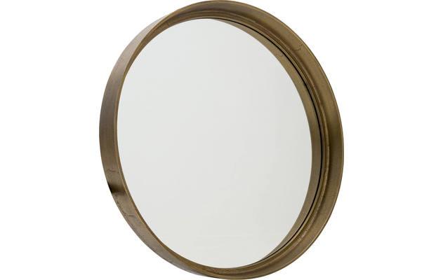 Spiegel Zwart Rond : Spiegel für ihr interieur goossens