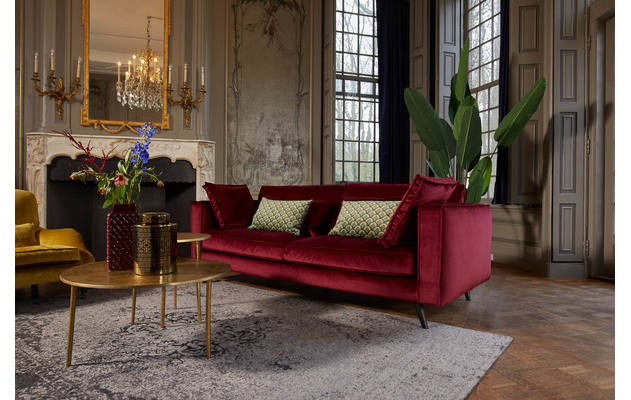 2 zits suite rood stof - 8190763-bank_suite-03