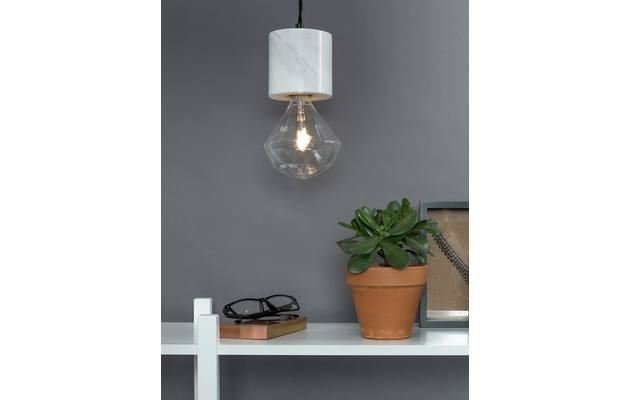Zuiver hanglamp trust wit marmer - 8192275-09